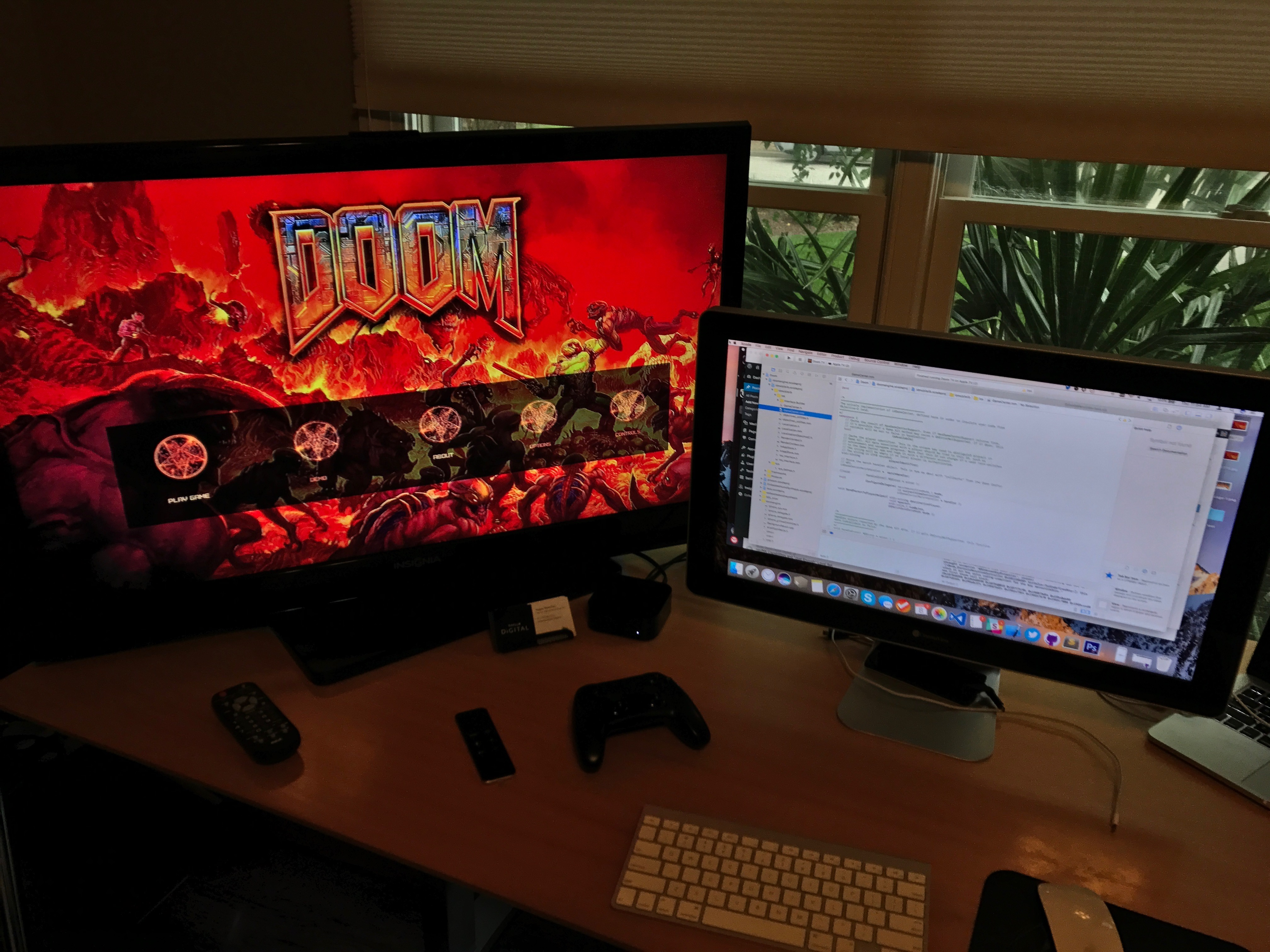 Doom for tvOS Running! – Mobile Fission